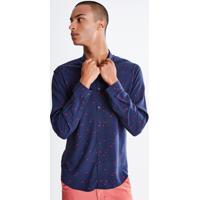 Camisa Estampa Flamingos