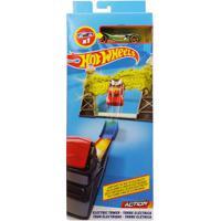 Pista E Veículo - Hot Wheels - Track Builder - Torre Elétrica - Mattel