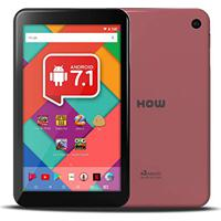 """Tablet How Ht 705, 7"""", Wifi, Android 7.1, Quadcore, Camera Cor Rosa"""