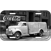 Placa De Metal Coca Cola Caminhão Grande Vintage Placa Decorativa De Metal Coca Cola Caminhão Retrô