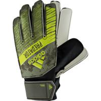 Luvas De Goleiro Adidas Predator Training - Infantil - Verde Escuro