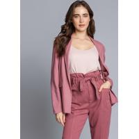Blusa Com Alças Básica Rosa Secreto - Lez A Lez