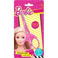 Tesoura Escolar 13Cm Barbie - Tris