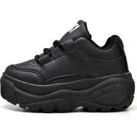 Tênis Infantil Ousy Shoes Bufalo Preto