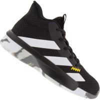 Tênis Adidas Pro Next K - Masculino - Preto/Branco