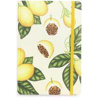 Caderno Fruta Maracujá - Amarelo
