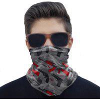 Máscara Bandana Armas Proteção Ciclismo Pesca Moto