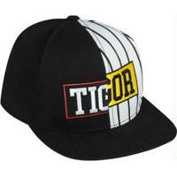 Boné Tigor T. Tigre Preto