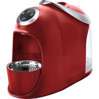 Cafeteira Expresso Versa S20 Reservatório De Água 1.2L 1050W Vermelha Três Corações 110V