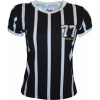 Camisa Liga Retrô Listrada 77 - Feminino