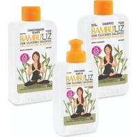 Kit Bambuliz Shampoo + Condicionador + Finalizador Muriel - Feminino-Incolor