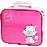 Lancheira Kidsplash! Infantil Mimi Cat Rosa