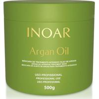 Inoar Máscara Hidratante Argan Oil 500G - Feminino-Incolor