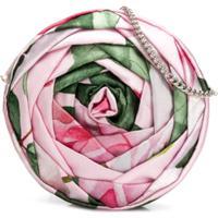 Monnalisa Bolsa Tiracolo Floral - Rosa