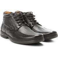 Sapato Conforto Cano Alto Rafarillo Air Masculino - Masculino-Preto