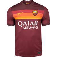 Camisa Roma I 20/21 Nike - Masculina - Vinho