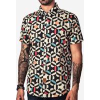 Camisa Hermoso Compadre Geometric Color Masculina - Masculino