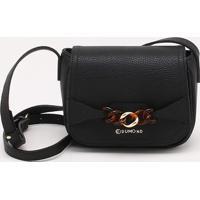 Bolsa Shoulder Bag Ornament Preta - M