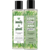 Kit Love Beauty & Planet Óleo De Melaleuca & Vetiver Shampoo 300Ml + Condicionador 300Ml