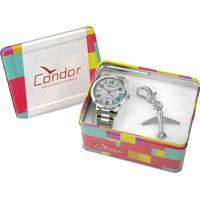 Kit Relógio Masculino Condor Co2035Knl/K3V