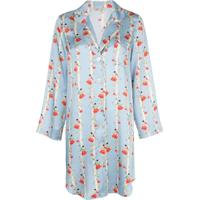 Morgan Lane Camisola Jillian Com Estampa Floral - Azul