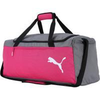 Mala Puma Fundamentals Sport M - Rosa/Cinza