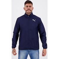Jaqueta Corta Vento Puma Active Jacket Masculina - Masculino-Marinho