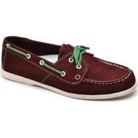 Mocassim Top Franca Shoes Casual Masculino - Masculino-Bordô