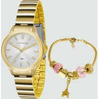 Kit Relógio Feminino Lince Lrg4507L Ku45S2Kx