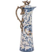 Jarra Decorativa De Porcelana Chemin