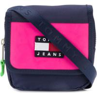 Tommy Jeans Pochete Transversal Heritage - Azul