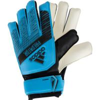 Luvas De Goleiro Adidas Predator Training - Adulto - Azul Claro/Preto