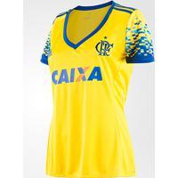 Netshoes  Camisa Flamengo Iii 17 18 S Nº Torcedor Adidas Feminina - Feminino a73a18962468e