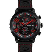 Relógio Skmei Analógico 9153 Vermelho