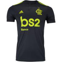 Camisa Do Flamengo Iii 2019 Adidas - Masculina - Cinza Escuro