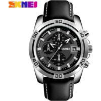 Relógio Masculino Skmei Chornograph Multicolor Dial - 9156 - Preto