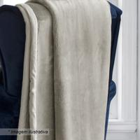 Cobertor King Size- Bege- 240X260Cm- Sultansultan