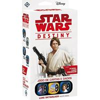 Jogo De Cartas E Dados Star Wars Destiny - Luke Skywalker (Pacote Inicial)