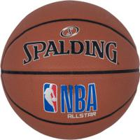 Bola De Basquete Spalding Nba All Star - Marrom