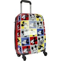 Mala De Viagem Infantil Luxcel Mickey Mouse Mi54051Mk Masculina - Masculino