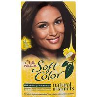 Tintura Wella Soft Color Kit Creme Sem Amônia Cor 30 Castanho Escuro