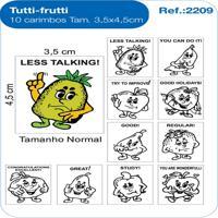 Carimbos Pedagógicos Tutti Frutti - Fundamental - Kanui