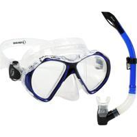 Kit De Mergulho Mx Máscara E Snorkel - Fun Dive