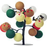 Árvore De Luz De Natal Santa'S Village Cormilu Verde - Tricae