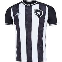 Camisa Do Botafogo I 2019 Kappa - Masculina - Preto/Branco