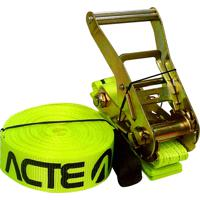Fita Elástica De Suspensão Slackline Verde 10 Metros - Acte Sports T122