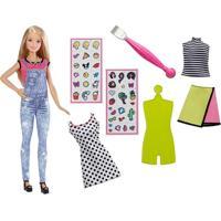 Boneca Barbie Com Acessórios - Barbie D.I.Y - Emoji Style - Mattel - Feminino