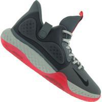 Tênis Nike Kd Trey 5 Vii - Masculino - Cinza Escuro/Preto