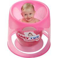 Banheira Babytub Evolution- Baby Tub - Unissex-Rosa