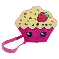 Bolsa Infantil Princesa Pink Bolsa Cupcake C/ Glitter Feminina - Feminino-Rosa